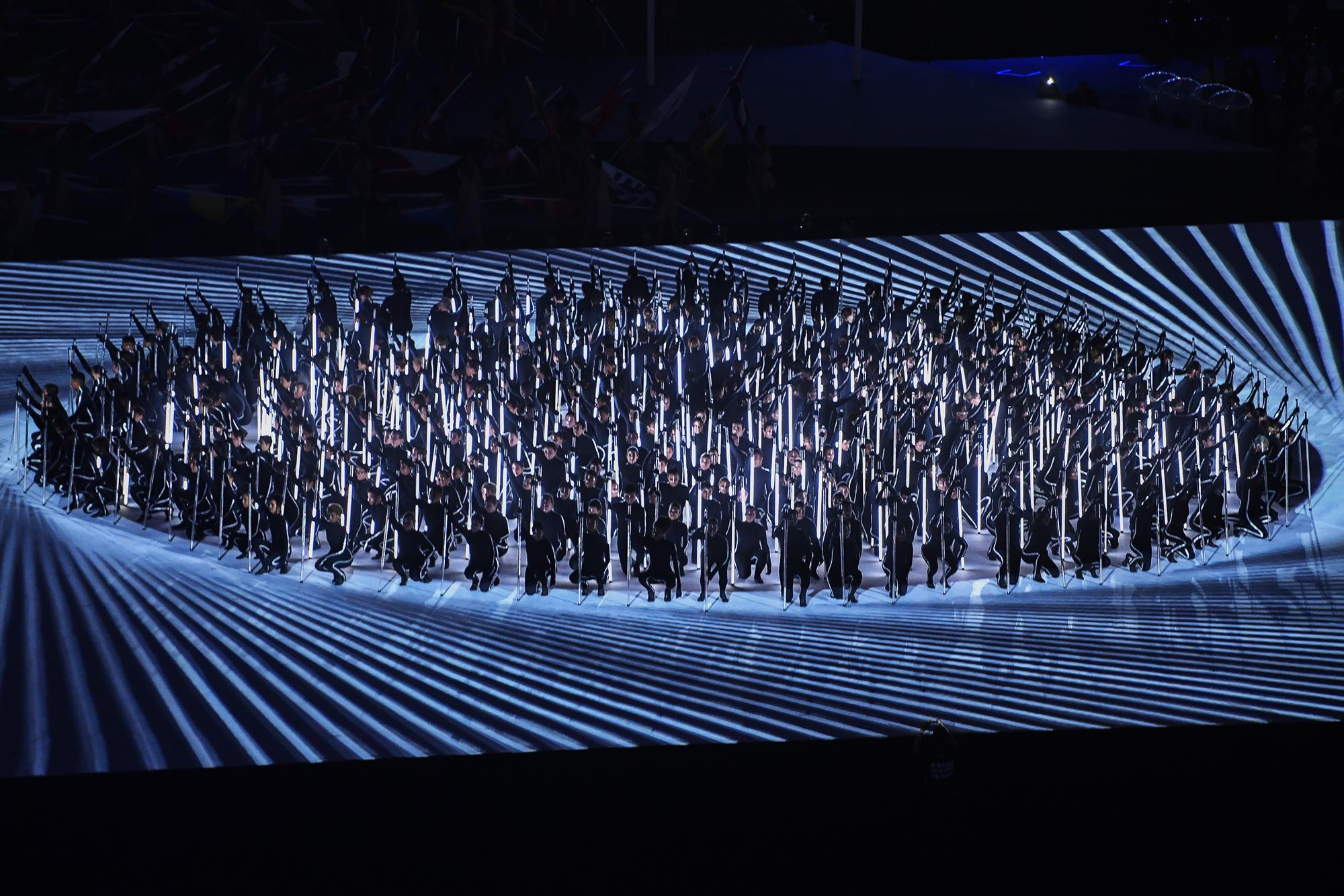 Cerimônia de abertura dos Jogos Paralímpicos Rio 2016